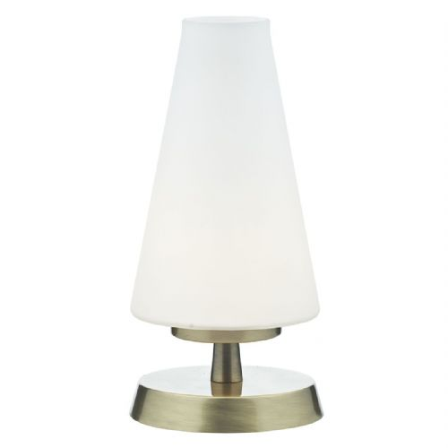 Finn Table Lamp Antique Brass Touch TXFIN4175-17